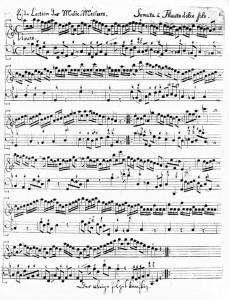 Telemann - Sonata in F - Vivace